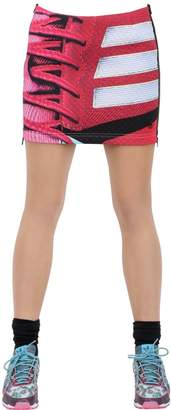 adidas By Mary Katrantzou Printed Neoprene Skirt
