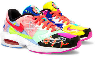 Nike Atmos Air Max2 Light Canvas And Rubber Sneakers