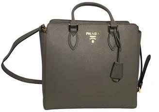 Prada Saffiano Handbag Gray