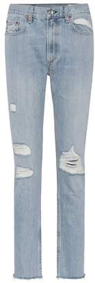 Rag & Bone Marilyn distressed skinny jeans