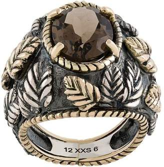 Ugo Cacciatori smokey quartz ring