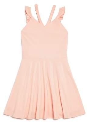 Sally Miller Girls' Vanessa Ruffle-Strap Dress - Big Kid