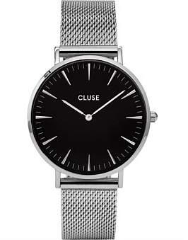 Cluse La Bohà ̈me Mesh Silver-Black