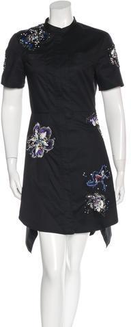 3.1 Phillip Lim3.1 Phillip Lim Embellished Shirt Dress