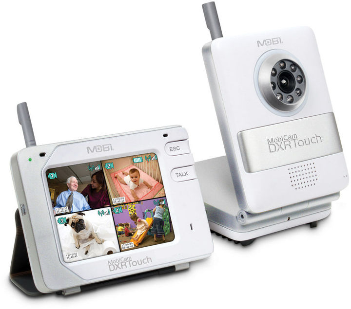 MobiCam DXRTouch- Wireless Audio/Video Monitoring System