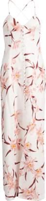 Zimmermann Corsage Orchid Slip Dress