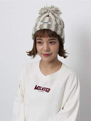 Milkfed. (ミルクフェド) - MILKFED. CABLE KNIT CAP ミルクフェド 帽子/ヘア小物