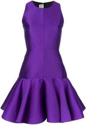 Maison Rabih Kayrouz short peplum dress