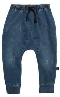 Nununu Baby's, Little Kid's& Kid's Raw Jeans