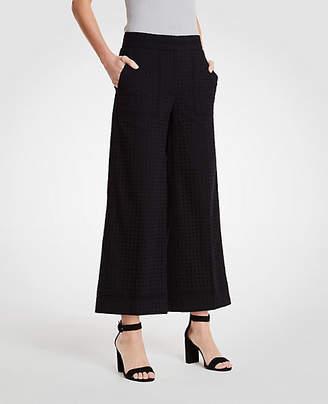 Ann Taylor The Tall Eyelet Wide Leg Marina Pant