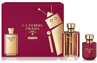 Prada La Femme Intense for Women 2 pieces Hardbox Gift Set (3.4 Oz Eau De Parfum spray/ 3.4 Oz Satin Body Lotion)