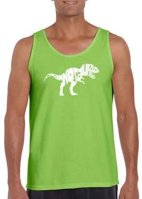 Los Angeles Pop Art Big Men's Tank Top - Tyrannosaurus Rex