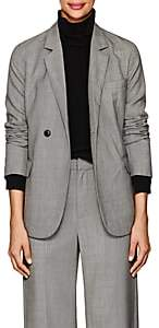 Nili Lotan Women's Classon Sharkskin Wool Blazer - Grey