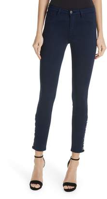 L'Agence Marlo Crop Skinny Jeans