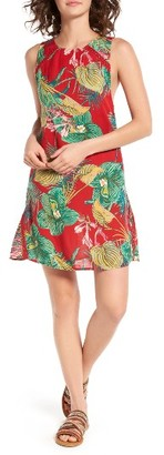 Women's Roxy Cuba Print Shift Dress $44.50 thestylecure.com