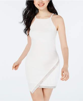 03cb0131954 BCX Juniors' Asymmetrical-Hem Rhinestone Dress