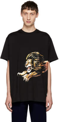 Givenchy Black Lion Graphic T-Shirt