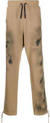 Alyx stain effect track pants