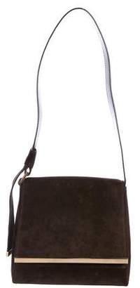 Gucci Vintage Suede Flap Bag