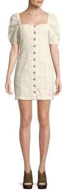 Free People Daniella Cotton Mini Dress