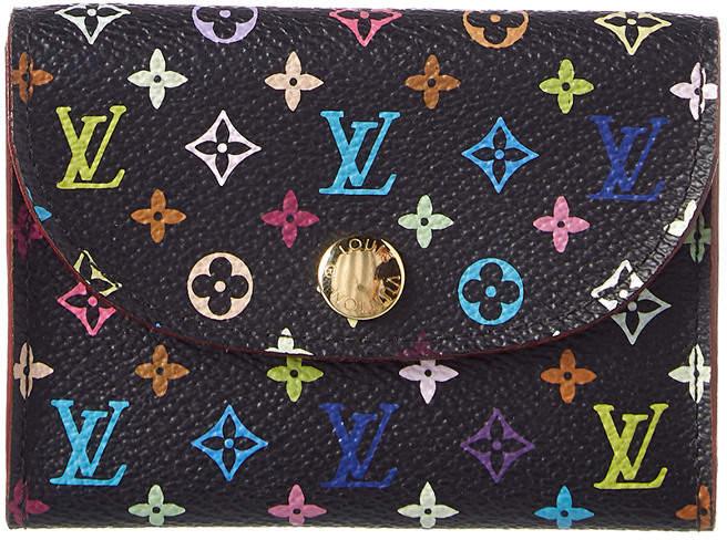 Louis Vuitton Black Monogram Multicolore Canvas Cardholder