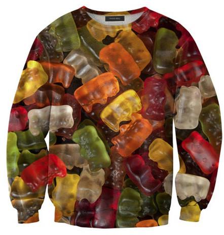 Mr. Gugu & Miss Go Gummy Bears Sweater