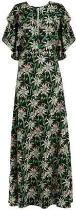 DODO BAR OR Beverly V-neck floral-print dress