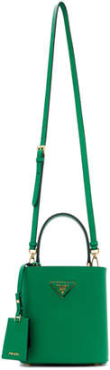 Prada Green Small Double Bag