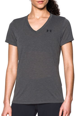 Under Armour Heathered Short-Sleeve Performance Tee $24.99 thestylecure.com
