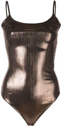 Alix Keen metallized bodysuit