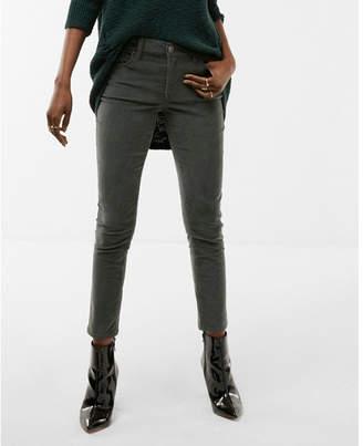 Express mid rise corduroy five pocket leggings