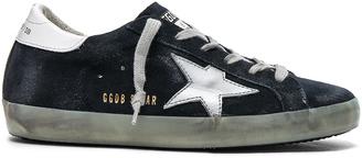 Golden Goose Suede Superstar Low Sneakers $460 thestylecure.com