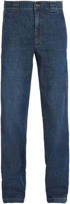 Lanvin Washed straight-leg jeans