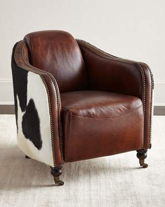 Regina-Andrew Design Regina Andrew Design Ramona Leather Club Chair