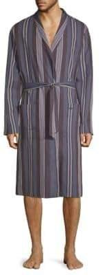 Hanro Noe Striped Robe