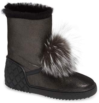 Sheridan MIA Toto Genuine Fox Fur Bootie