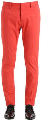 DSQUARED2 16cm Tidy Stretch Light Cotton Pants