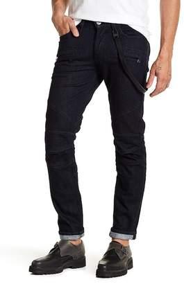Hudson Skinny Zip Pocket Biker Jeans