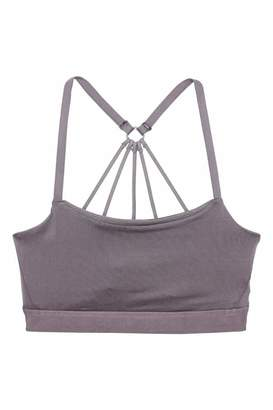 H&M Sports Bra Low support - Taupe - Women