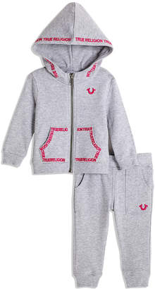 76ac1ca9b True Religion BABY GIRL EMBROIDERED HOODIE SET