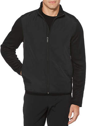 Perry Ellis Long-Sleeve Fleece Jacket