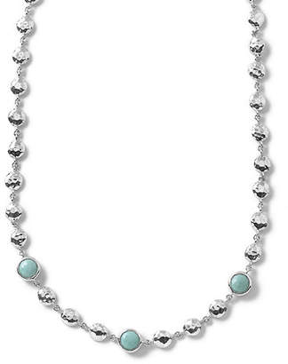 Ippolita Silver Rock Candy Short Bead & Stone Necklace