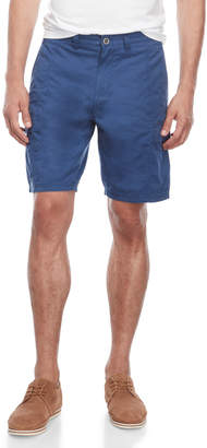 Ike Behar Flat Front Cargo Shorts