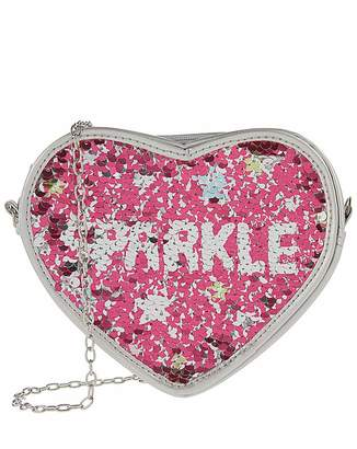 Monsoon Sparkle Star Heart Bag