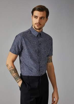 Giorgio Armani Shirt With Short Sleeves