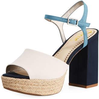 Sam Edelman Nakita Colorblock Platform Sandal