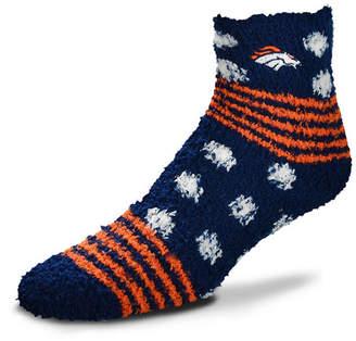 For Bare Feet Denver Broncos Homegater Sleep Soft Socks