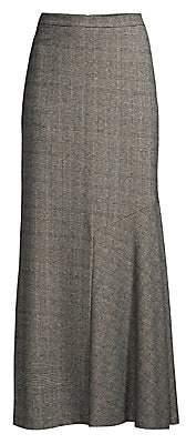 Max Mara Women's Oceania Maxi Check Skirt