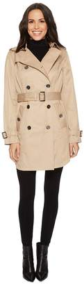 MICHAEL Michael Kors Double Breasted Belted Trench M722579B74 Women's Coat