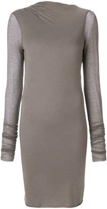 Rick Owens Lilies tunic-length open back asymmetrical top